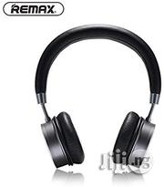 Remax 520HD Stereo Over Ear Wireless Bluetooth Earphone | Headphones for sale in Lagos State, Ikeja