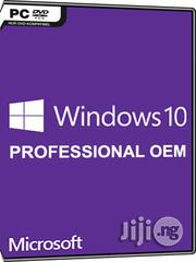Microsoft Windows 10 Professional (OEM) | Software for sale in Lagos State, Ikeja