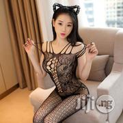 American Sexy Lingerie Sexy Hollow Black Net Stockings Open Breasts | Clothing for sale in Lagos State, Ikeja