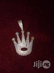 ITALY 750 Original 18karat Solid Gold Crown Pendant | Clothing Accessories for sale in Lagos State, Lagos Mainland