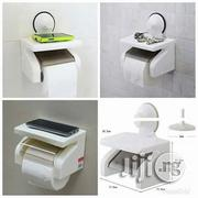 Tissue Holder With Wall Suction | Home Accessories for sale in Lagos State, Ibeju