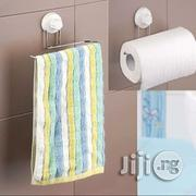 Metal Tissue/Towel Holder With Wall Suction | Home Accessories for sale in Lagos State, Ibeju