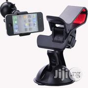 Universal Car Mount Dual Clamp Clip Bracket Mobile Holder   Accessories for Mobile Phones & Tablets for sale in Lagos State, Ikeja