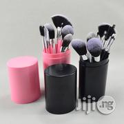 12 Pieces Makeup Brush With Pack Organizer Black Friday Sale | Makeup for sale in Lagos State, Ikorodu