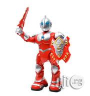 Electric Sound Effect Walking Warrior Superman Robot Children's Toys | Toys for sale in Lagos State, Ikeja