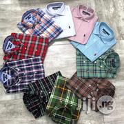 Tommy Hilfiger Shirt And Polo Ralph Lauren Designer Shirt | Clothing for sale in Lagos State, Lagos Island