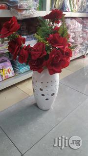 White Flower Vase | Home Accessories for sale in Lagos State, Lagos Mainland