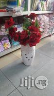 White Flower Vase | Home Accessories for sale in Lagos Mainland, Lagos State, Nigeria