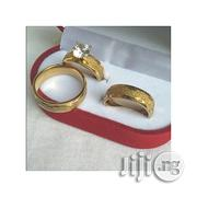 Fashion 18 Karat Gold Plated Wedding Ring | Wedding Wear for sale in Lagos State, Surulere
