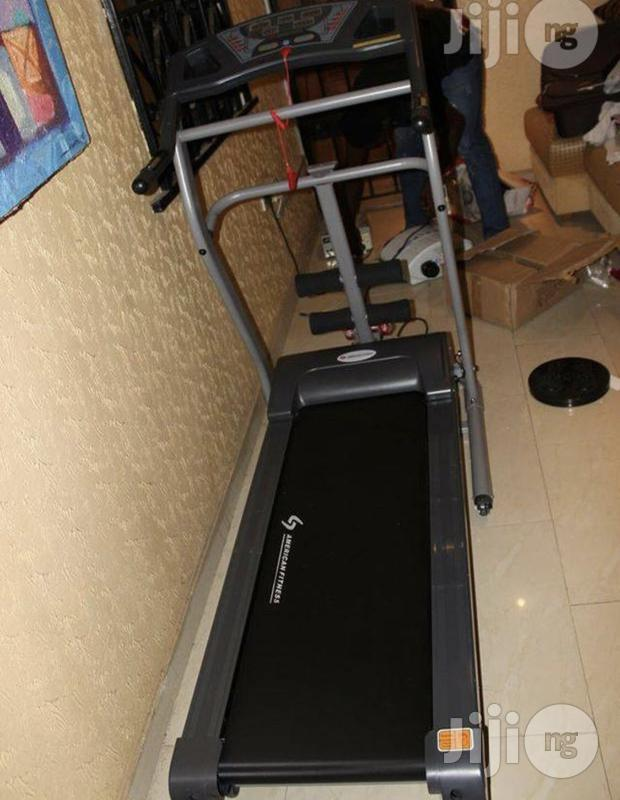2hp Treadmill With Massager (American Fitness)