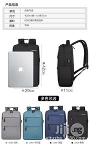 Waterproof USB Laptop Backpack Shoulder Bag   Computer Accessories  for sale in Lagos State, Amuwo-Odofin