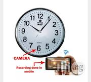 High Definition Spy Wifi Wall Clock Camera | Security & Surveillance for sale in Lagos State, Ikeja