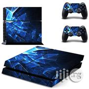 Generic Vinyl Sticker For Ps4 Slim Blue | Video Game Consoles for sale in Lagos State, Ikeja