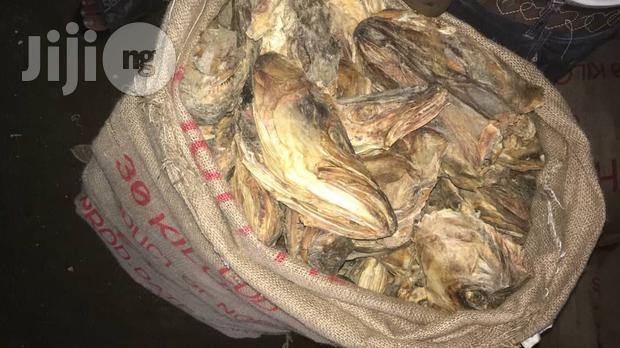 Archive: 30kg Dried Stock Fish Heads Also Known As Isi Okporoko