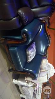 Leather Sofa Chair. | Furniture for sale in Abuja (FCT) State, Garki I