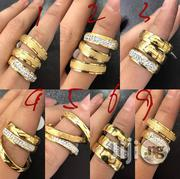 Various Designs 3pcs Steel Wedding Rings Sizes 6 - 12 | Wedding Wear for sale in Lagos State, Surulere