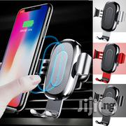 Baseus Qi Wireless Fast Car Charger With Holder Mount | Vehicle Parts & Accessories for sale in Lagos State, Ikeja
