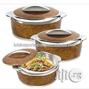 VTCL Sweet Insulated Hot Pot Food Flask Serving Dish - 3 Pieces | Kitchen & Dining for sale in Lagos State, Mushin