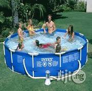 12 By 30 Metal Frame Pool With Filter | Sports Equipment for sale in Lagos State, Ikeja