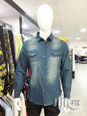 Original Denim Long-Sleeve Shirt | Clothing for sale in Lagos State, Surulere