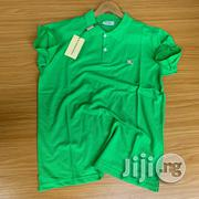 Original Burberry Collar Neck Polo | Clothing for sale in Lagos State, Surulere