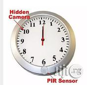 Hidden Cameras 1080p Spy Camera Wall Clock Security With Motion Detection | Security & Surveillance for sale in Lagos State, Ikeja