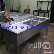 Double Industrial Sink With Work | Restaurant & Catering Equipment for sale in Lagos State, Ojo