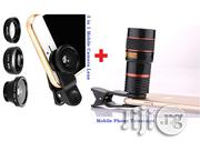 Phone Mobile Telescope Fish Eye Lens | Accessories & Supplies for Electronics for sale in Lagos State, Ikeja