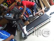 New American Fitness 2.5hp Treadmill With Massager | Massagers for sale in Lagos State, Ikorodu