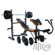 American Fitness Commercially Weight Bench With Chest Push | Sports Equipment for sale in Lagos State, Surulere