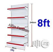 Pinnacle Single Face Supermarket Display Shelf - 8ft Height | Store Equipment for sale in Lagos State, Surulere