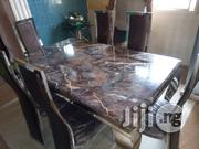 Quality Marble Dinning Table With Six Chairs | Furniture for sale in Lagos State, Ikotun/Igando