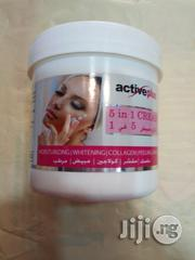 Active Plus 5 N 1 Whitening, Moisturizing Collagen Peeling and Mask | Skin Care for sale in Lagos State, Amuwo-Odofin