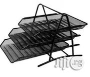 3 Tier Documents And File Tray - Black | Stationery for sale in Lagos State, Alimosho