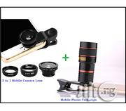 Mobile 3 In 1 Phone Camera Lens & Telescope | Accessories for Mobile Phones & Tablets for sale in Lagos State, Ikeja