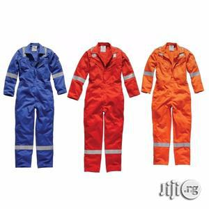 Safety Coverall & Fire Coverall.