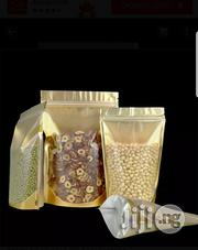 12*20cm Gold Stand-up Pouch Nylon | Manufacturing Materials & Tools for sale in Lagos State, Lagos Mainland