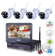 4 Channels Wireless Wifi Camera Kit | Photo & Video Cameras for sale in Lagos State, Ikeja