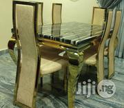 Quality Marble Dining Table With Six Chairs | Furniture for sale in Lagos State, Ajah