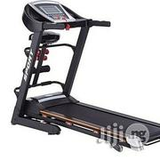 American Fitness Standard Treadmill 2hp With Massager Dumbells | Sports Equipment for sale in Imo State, Owerri North