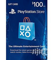 Sony PSN $100 Gift Card For PS3/PS4/Psvita - Playstation Network Card - USA   Video Game Consoles for sale in Abuja (FCT) State, Central Business District