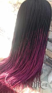Mixed Colour Braided Wig   Hair Beauty for sale in Lagos State