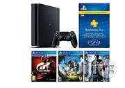 Sony Playstation 4 500GB Slim Console With 3 Games And 3 Month PS Plus Membership   Video Game Consoles for sale in Abuja (FCT) State, Central Business District