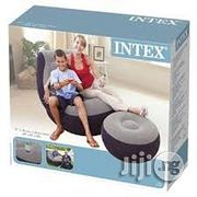Intex Inflatable Air Chair And Ottoman With Built In Cup Holder And Pump | Kitchen & Dining for sale in Lagos State, Magodo