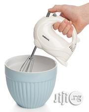 Sabichi 5 Speed White Gloss Hand Mixer | Kitchen Appliances for sale in Abuja (FCT) State, Central Business District