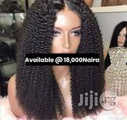 Half Cast Curls Wig With Lace Closure | Hair Beauty for sale in Lagos State, Lagos Mainland