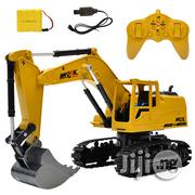 Wireless Remote Control 2.4G Eight-Way Alloy Excavator Children's Toy | Toys for sale in Lagos State, Ikeja