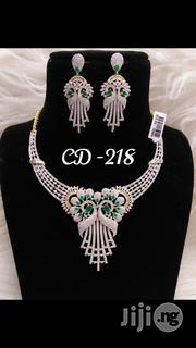 Cubic Zirconia Necklace Set India | Jewelry for sale in Lagos State, Lagos Island