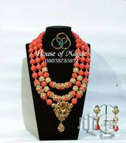 Carved Coral Bead Jewelry | Jewelry for sale in Lagos State, Lagos Island
