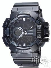 Ohsen Men's Digital Sport Watch - Black | Watches for sale in Lagos State, Ikeja